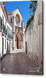 Gothic Church Acrylic Print by Jose Elias - Sofia Pereira