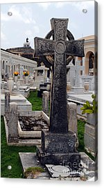Gothic Cross Acrylic Print