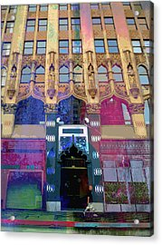 Acrylic Print featuring the photograph Gothic Entrance by John Fish