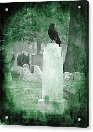 Gothic Green Acrylic Print by Gothicrow Images
