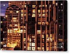 Acrylic Print featuring the photograph Gothic Living - Yaletown Ccclxxx by Amyn Nasser