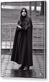 Gothic Miss Acrylic Print by Hal Norman K