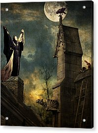 Gothic Queen Acrylic Print