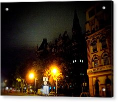 Acrylic Print featuring the photograph Gothic Skyline by Salman Ravish