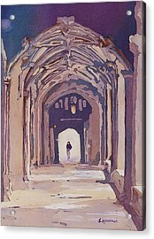Gothic Spector Acrylic Print by Jenny Armitage