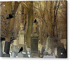 Gothic Splash Acrylic Print by Gothicrow Images