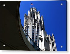 Gothic Tribune Tower Curve Acrylic Print