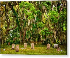 Gould's Cemetery Acrylic Print by Priscilla Burgers