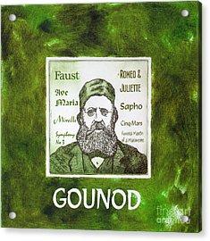 Gounod Acrylic Print by Paul Helm