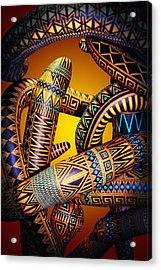 Gourd Snake Acrylic Print