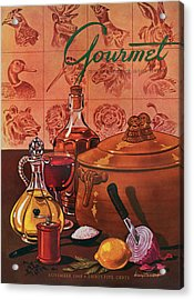 Gourmet Cover Featuring A Casserole Pot Acrylic Print