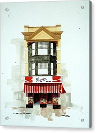 Govatos' Candy Store Acrylic Print by William Renzulli