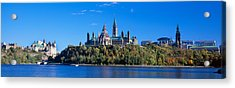 Government Building On A Hill Acrylic Print
