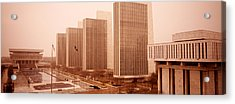 Government Center, Albany, New York Acrylic Print by Panoramic Images