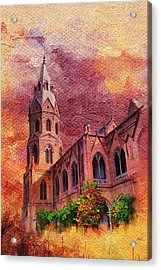 Government College Lahore Acrylic Print by Catf