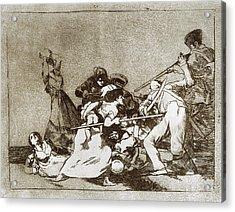 Goya Disasters Of War Acrylic Print by Granger