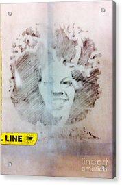 Gpc Girl 4 Acrylic Print by WaLdEmAr BoRrErO