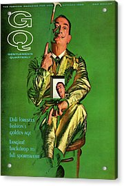 Gq Cover Featuring Salvador Dali Acrylic Print by Chadwick Hall