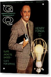 Gq Cover Of Henry Ford Acrylic Print by Chadwick Hall