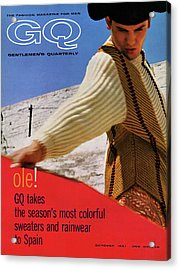 Gq Cover Of Spanish Matador Acrylic Print