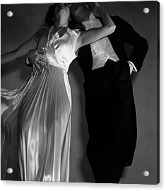 Grace And Paul Hartman Acrylic Print by Edward Steichen