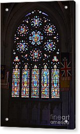 Grace Cathedral Acrylic Print by Dean Ferreira