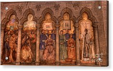 Grace Cathedral Mural Acrylic Print by David Bearden
