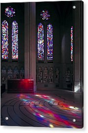 Grace Cathedral Walking Labyrinth - San Francisco Acrylic Print