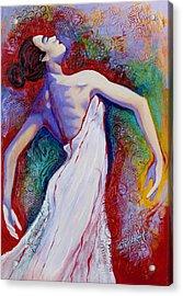 Grace Acrylic Print by Claudia Fuenzalida Johns
