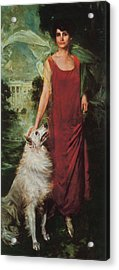 Grace Coolidge, First Lady Acrylic Print by Science Source