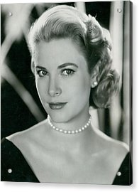 Grace Kelly Acrylic Print by Retro Images Archive