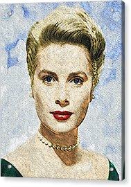 Grace Kelly Acrylic Print