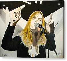 Grace Potter At The Peel Acrylic Print