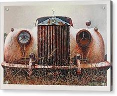 Grace - Rolls Royce Acrylic Print by Blue Sky