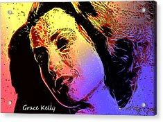 Grace Acrylic Print by Steve K