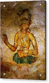 Graceful Absara. Sigiriya Cave Painting Acrylic Print