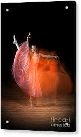 Graceful Ballerina Spirit Dance Acrylic Print