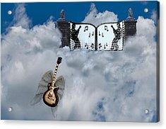 Graceland Acrylic Print by Bill Cannon