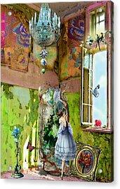 Grace's Window Acrylic Print by Laura Botsford