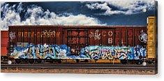 Graffiti - Alien Acrylic Print