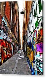 Graffiti Alley - Melbourne - Australia Acrylic Print