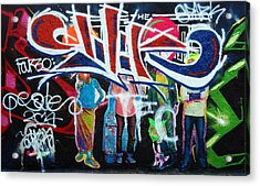 Graffiti Art Acrylic Print