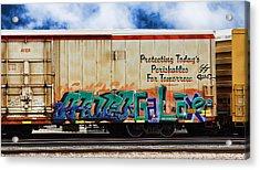 Graffiti - Galaxee Acrylic Print