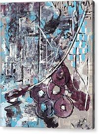 Graffiti Gumbo Acrylic Print