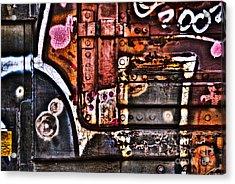 Graffiti II Acrylic Print by Alana Ranney