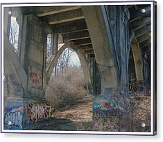Graffiti Kansas City 9 Acrylic Print by Ellen Tully