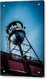 Graffiti Lives Acrylic Print by Carlos Ruiz