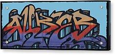Graffiti - Panel Acrylic Print