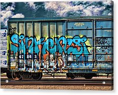 Graffiti - Sinker Acrylic Print