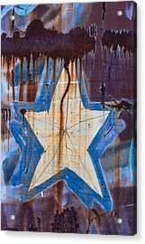 Graffiti Star Acrylic Print